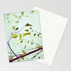 leaves of summer Stationery Cards