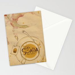 Cafe Suada Cuppa Stationery Cards