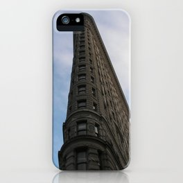 As Flat as an Iron can get, in NYC iPhone Case