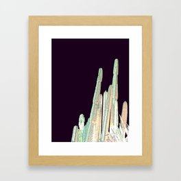 In the heat of the night Framed Art Print