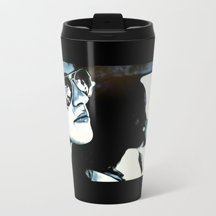 Down The Road Back Home Metal Travel Mug