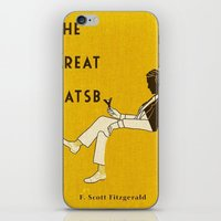 the great gatsby iPhone & iPod Skins featuring The Great Gatsby by MW. [by Mathius Wilder]