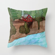 Landscapes / Nr. 8 Throw Pillow