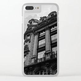 Noir Paris XI Clear iPhone Case