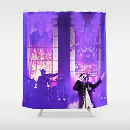 Waiting For The Night To Fall. Shower Curtain