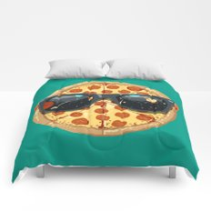 Cool Pizza Comforters