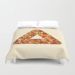 Penrose Pizza Duvet Cover