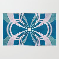 infinity Area & Throw Rugs featuring Infinity by Enrico Guarnieri 'Ico-dY'