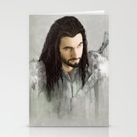 thorin Stationery Cards featuring Thorin by Alba Palacio