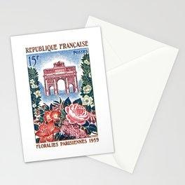 1959 FRANCE Paris Flower Show Postage Stamp Stationery Cards
