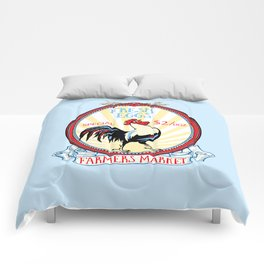 Roosters crow Comforters