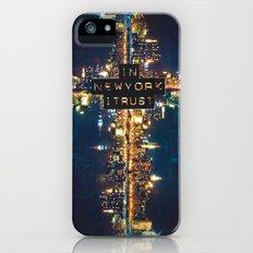 In New York I Trust iPhone (5, 5s) Slim Case