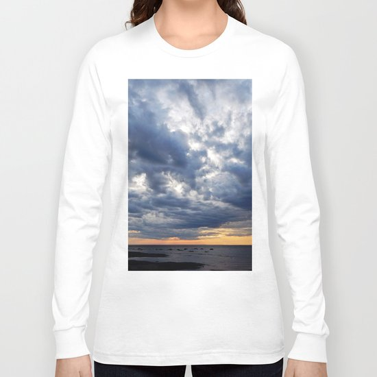 Clouds on the Sea Long Sleeve T-shirt