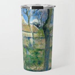 "Camille Pissarro ""The Path to Les Pouilleux, Pontoise"" Travel Mug"