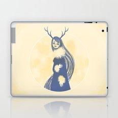Lady Blue Laptop & iPad Skin