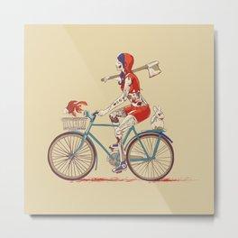 Death Ride Metal Print
