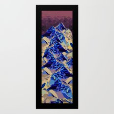 The Great, Great Night Mountain No. 6 Art Print