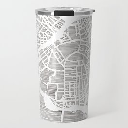 boston city print Travel Mug