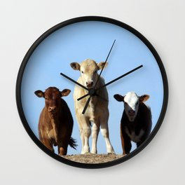 Cow Hill Wall Clock