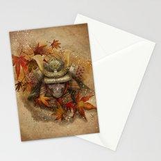 Late Autumn Samurai Stationery Cards