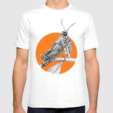Grasshopper Mens Fitted Tee White MEDIUM