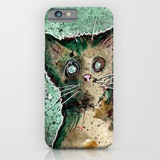 Turtle the turtle shell zombie kitten Slim Case iPhone 6s