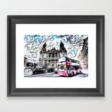 London Classic Art Framed Art Print