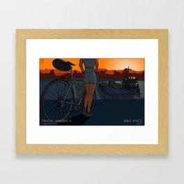 The Last Ferry Framed Art Print