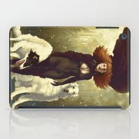 dogs iPad Cases featuring Dogs by Kelly Perry