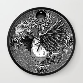 Birdy Dragon Wall Clock