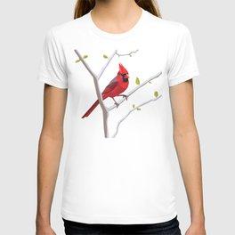 Geometric Cardinal T-shirt