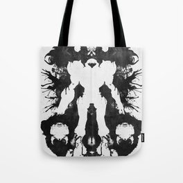 Samus Aran Metroid Geek Psychological Diagnosis Ink Blot  Tote Bag
