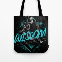 Jay Z Motivational Art and Quote Tote Bag