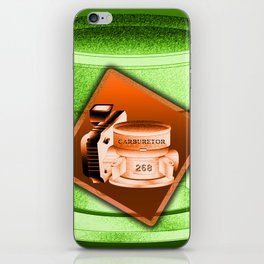 Carburetor 4 iPhone Skin
