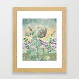 mystique landscape Framed Art Print