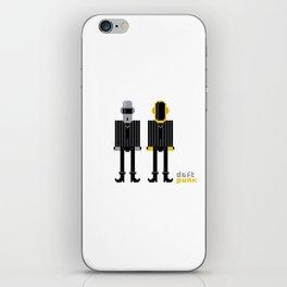 Pixel Daft Punk iPhone Skin