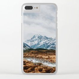 Mount Cook National Park Clear iPhone Case
