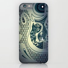 Midnight swirls iPhone 6s Slim Case