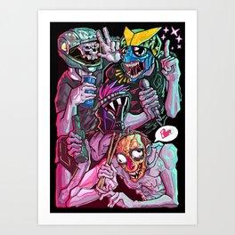 Bondage fairies Art Print
