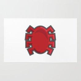 Spidy Symbol  Rug