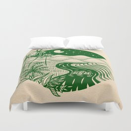 Memories of the Philippines Duvet Cover