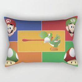 Mario Party Rectangular Pillow