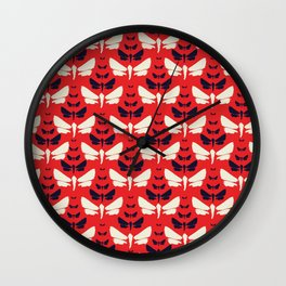 FLUTTER-BY POPTASTIC Wall Clock