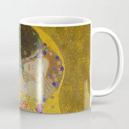 Gustav Klimt The Kiss Detail Coffee Mug