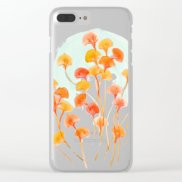 The bloom lasts forever Clear iPhone Case