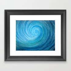 Barrel Wave Framed Art Print
