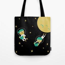Reading Astronauts Tote Bag