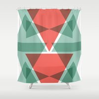 geo Shower Curtains featuring Geo by Jamie Fife