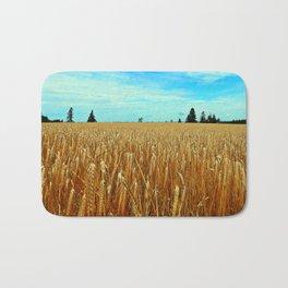 Wheat Field Bath Mat