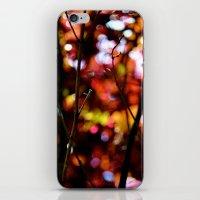 bokeh iPhone & iPod Skins featuring Bokeh by KitKatDesigns